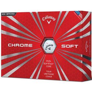 Callaway Chrome Soft golfballen