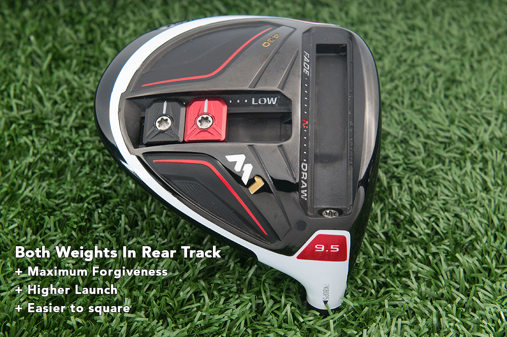 Taylormade M1 driver 4