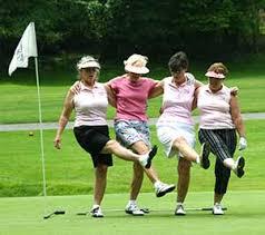 Meer vrouwen op de golfbaan